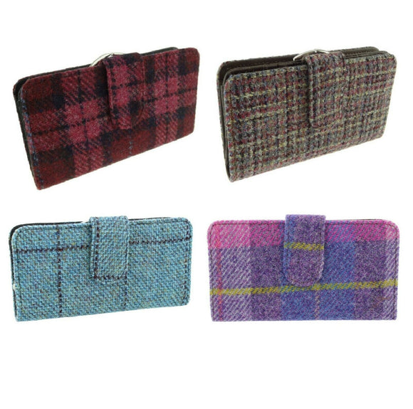 Glen Appin Harris Tweed Ladies Iona Purse LB2001