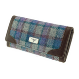 Glen Appin Bute Harris Tweed Long Fold-over Purse LB2000