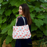 Poppy Pink Freya Oil Cloth Tote bag by Earth Squared