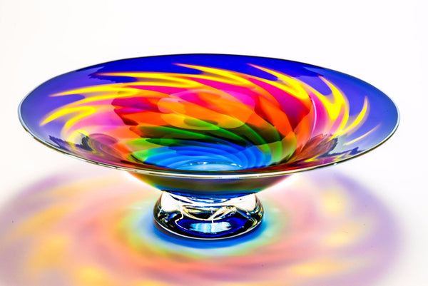 Extra Large Six Color Bowl