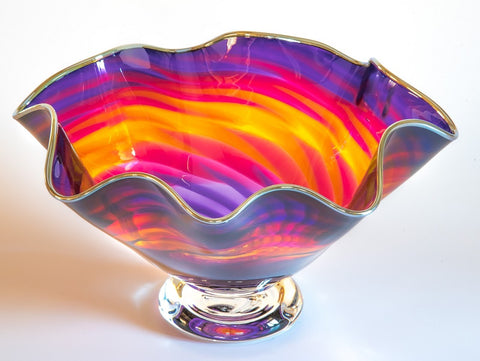 Sunburst Handkerchief Bowl