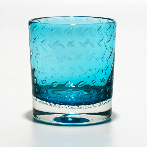 Aquamarine Whiskey Glass