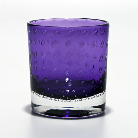 Amethyst Whiskey Glass
