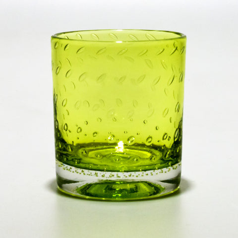 Peridot Whiskey Glass