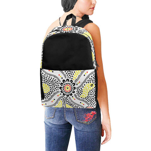 Aboriginal Gathering Backpack (9 Different Colours)