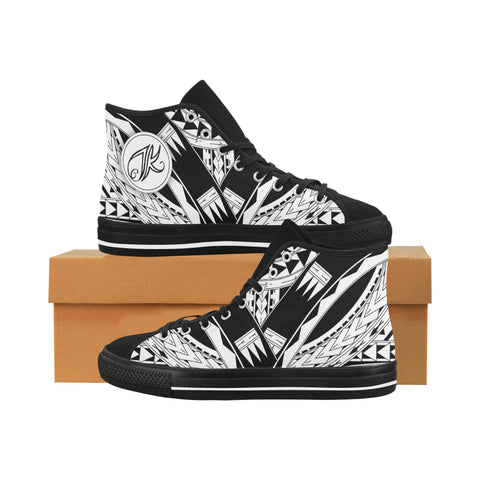 Ayla High Top Canvas Shoe (2 Different Colours)