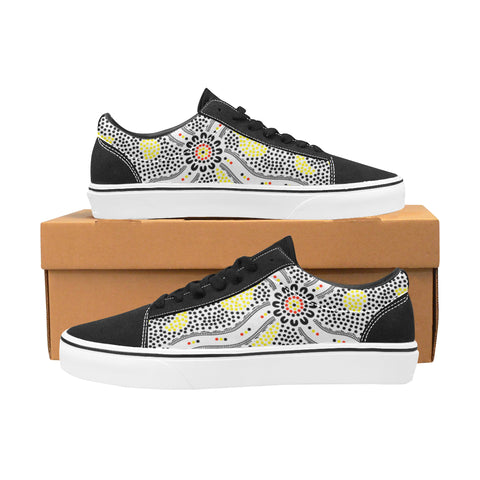 Aboriginal Gathering Canvas Shoes (9 Different Colours)