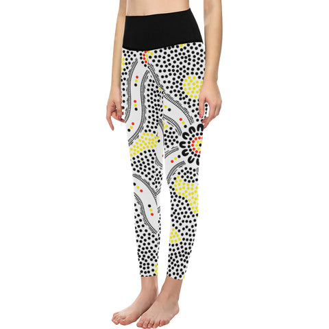 Aboriginal Gathering Leggings (9 Different Colours)