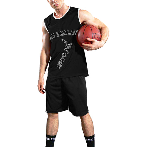 New Zealand Basket Ball Kit