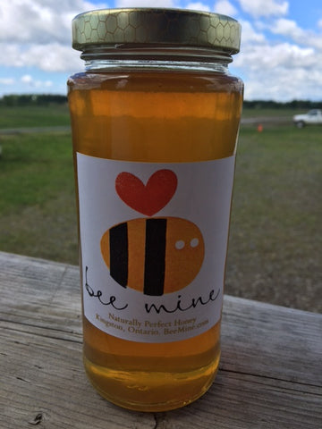 Bee Mine Honey for sale at our farm!