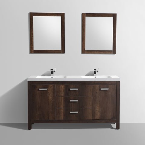 Wood Modern Vanity MR MAGOOS FURNITURE Bathroom Vanities - Bathroom vanities pompano beach fl