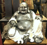 "1 and only piece, Resin laughing happy Buddha ""Uncle Lloyd"""