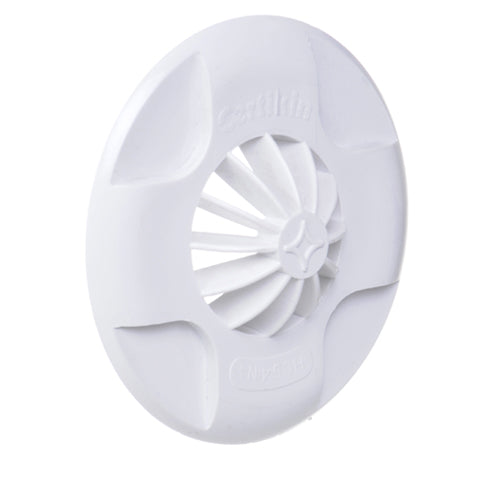 Certikin Inlet Return Grille Cover Plate (White) - No. 4