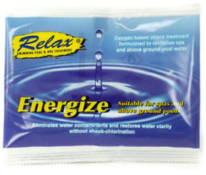 Relax Energize Spa Water Treatment Sachet 30g