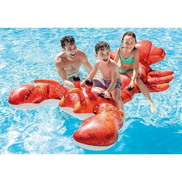 Inflatable Lobster Ride-On