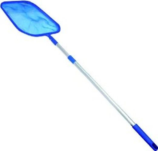 MegaPool Leaf Skimmer Net With Short Telescopic Pole