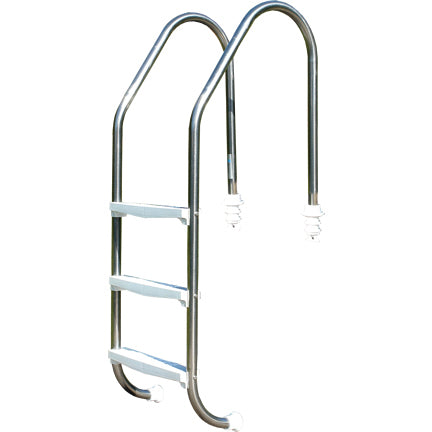 Ladder 3 Tread Stainless Steel with ABS Treads