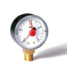 Atika / Tagelus Pressure Gauge Base Entry ¼""