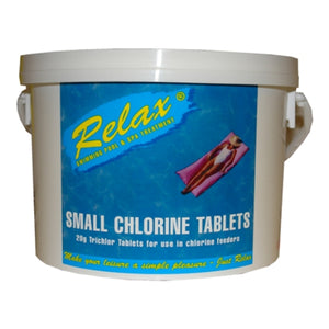 Relax Small Chlorine Tablets