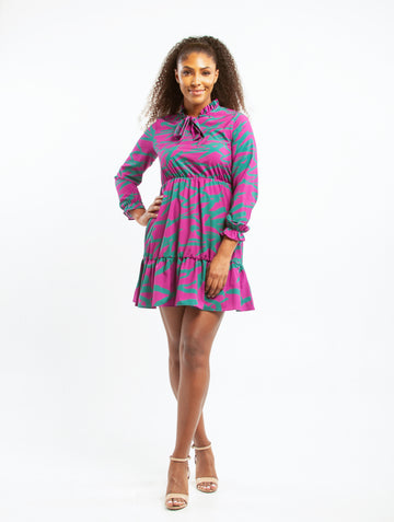 Meru Chiffon Dress