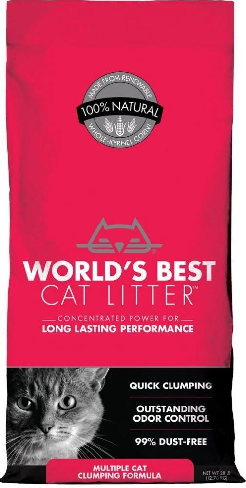 World's Best Multiple Cat Clumping Formula Cat Litter