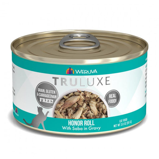 Weruva TRULUXE Honor Roll with Saba in Gravy Canned Cat Food