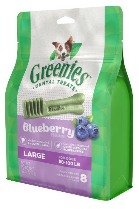 Greenies Large Blueberry Dental Chews