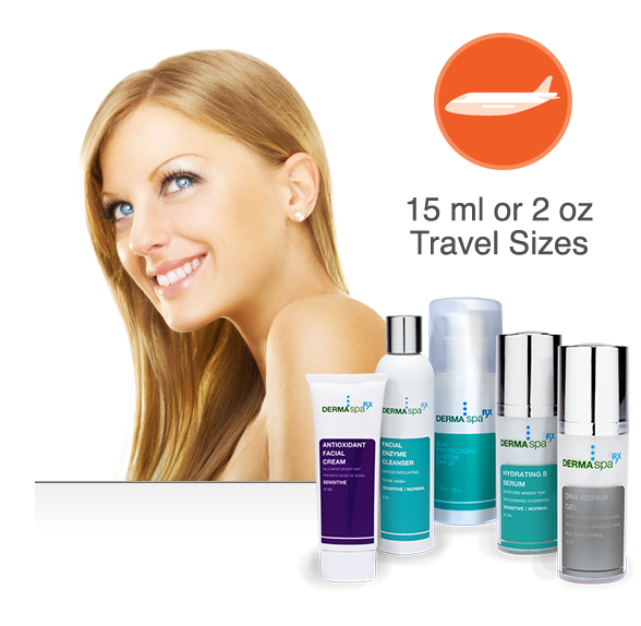 DermaSpaRx Travel Kits
