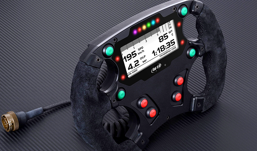 Formula Steering Wheel 3, Racing Steering Wheel Designed for Formula and Sports cars