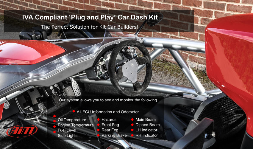 Kit Car Dash Display - The Perfect Car Builders Solution