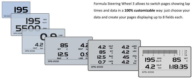 Formula Steering Wheel 3, Racing Steering Wheel Sports cars
