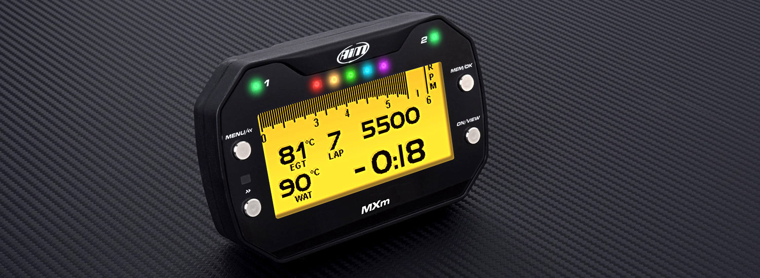 Aim MXm Compact Dash Data Logger