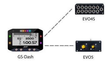 Aim GS-Dash Display for EVO4s and EVO 5