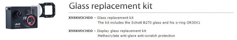 Aim SmartyCam HD Rev2 60 Glass replacement Kits