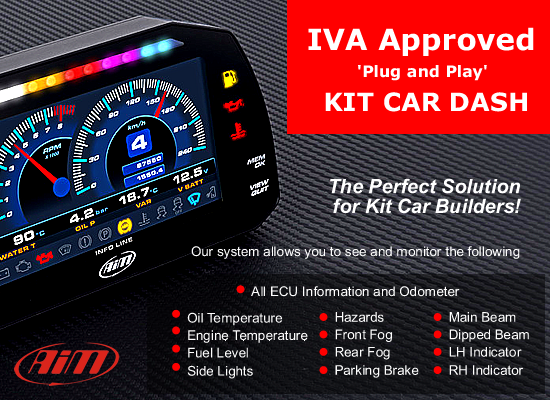 IVA Approved Dash kit