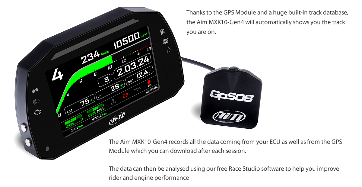 LAP TIMING AND DATA LOGGING FOR THE TRACK