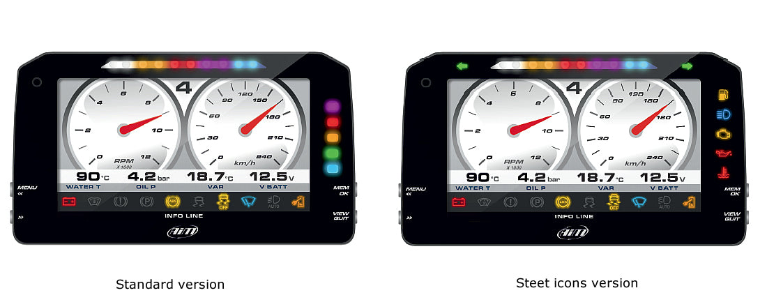 MXP Strada Dash Display Two Versions