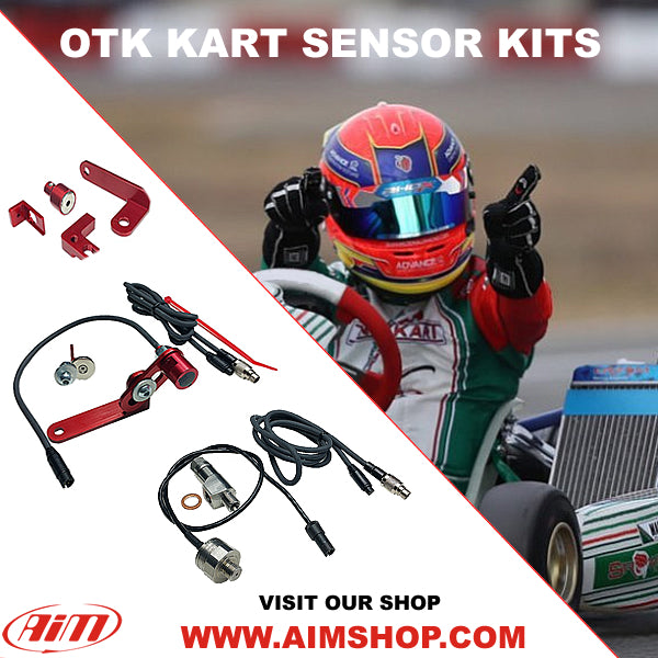 OTK Kart Brake, Throttle Position, Pressure Sensors and Bracket Kits