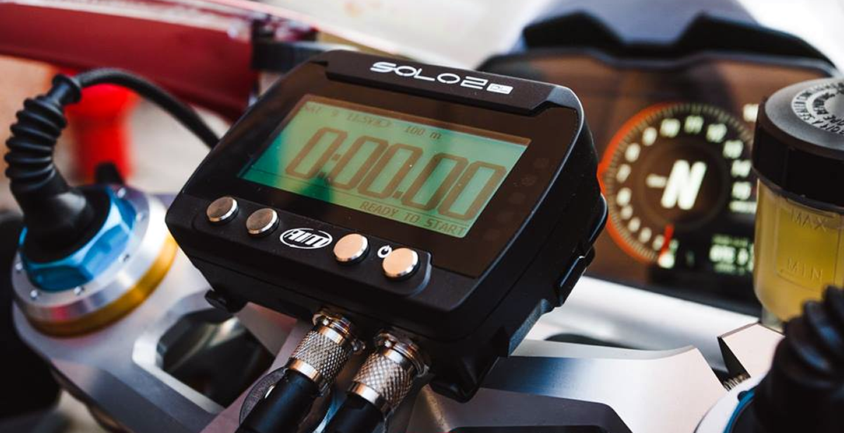 Motorcycle Solo DL Sportbike Lap Timer