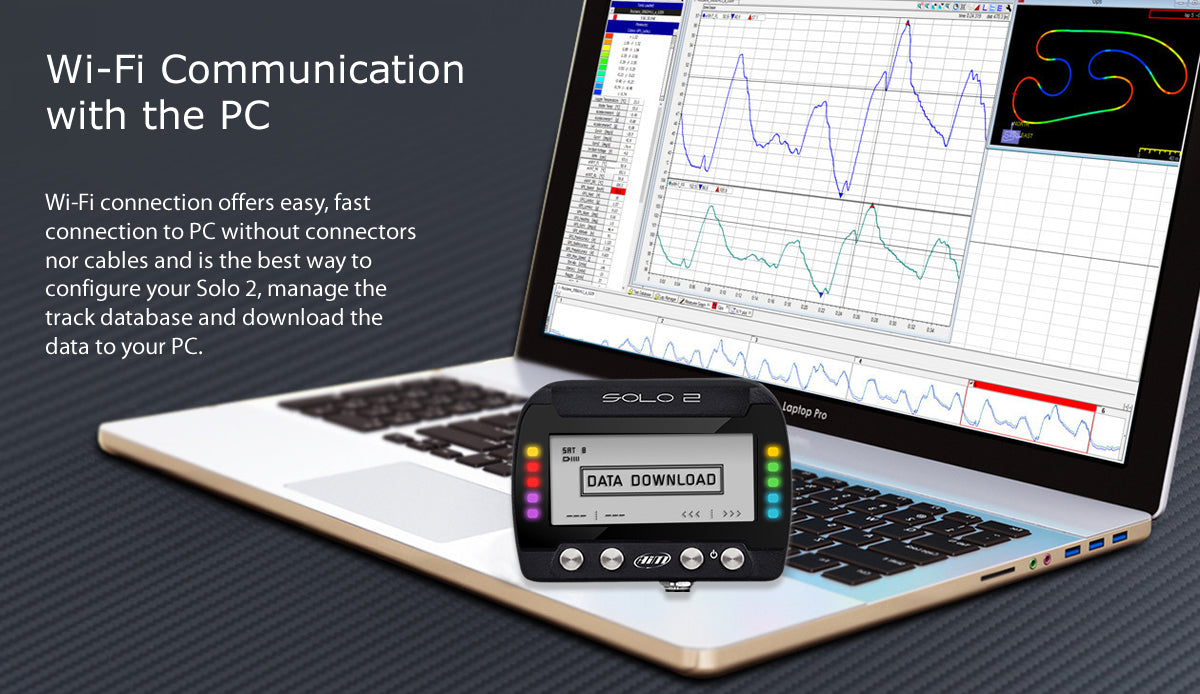 Wi-Fi communication with the PC