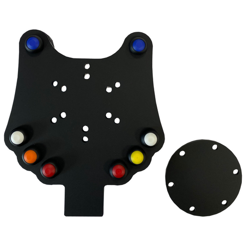 8 Channel CAN Wireless Wheel Button Plate