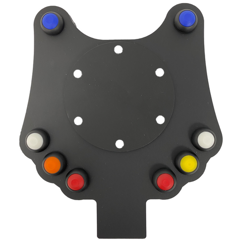 AiM 8 Button Wireless Steering Wheel Plate