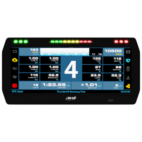 "AiM 10"" TFT PDM Race Icons Display Screen"