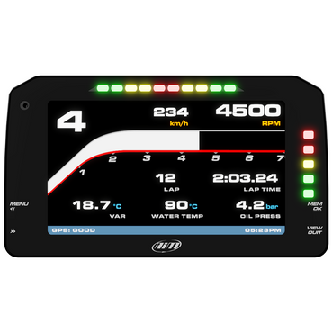 "AiM 6"" TFT PDM Race Icons Display Screen"