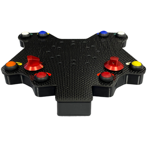 AiM Carbon 10 Button Wireless Steering Wheel Plate