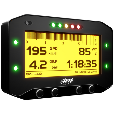 AiM GS-Dash Motorcycle Racing Dash Display