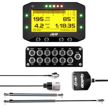 AiM GS Dash & EVO4S Bike Data Logging Kit