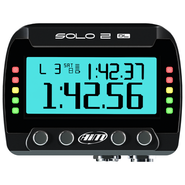 AiM Solo 2 DL GPS + ECU Motorcycle Track Day Lap Timer