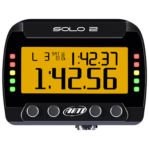 AiM Solo 2 GPS Kart Racing Day Lap Timer