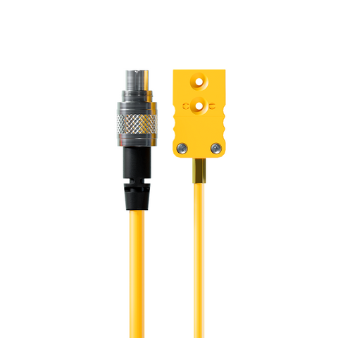 AiM Thermocouple Patch Lead - TC Yellow to 712 3 Pin